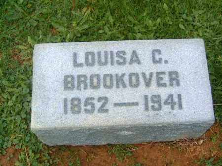 BROOKOVER, LOUISA  C - Brown County, Ohio | LOUISA  C BROOKOVER - Ohio Gravestone Photos