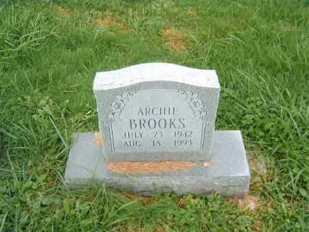 BROOKS, ARCHIE - Brown County, Ohio | ARCHIE BROOKS - Ohio Gravestone Photos