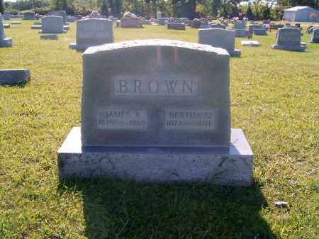 BROWN, BERTHA  O - Brown County, Ohio | BERTHA  O BROWN - Ohio Gravestone Photos