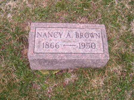 BROWN, NANCY  A - Brown County, Ohio | NANCY  A BROWN - Ohio Gravestone Photos