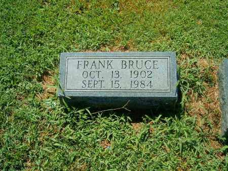 BRUCE, FRANK - Brown County, Ohio | FRANK BRUCE - Ohio Gravestone Photos