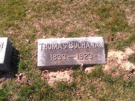 BUCHANAN, THOMAS - Brown County, Ohio | THOMAS BUCHANAN - Ohio Gravestone Photos