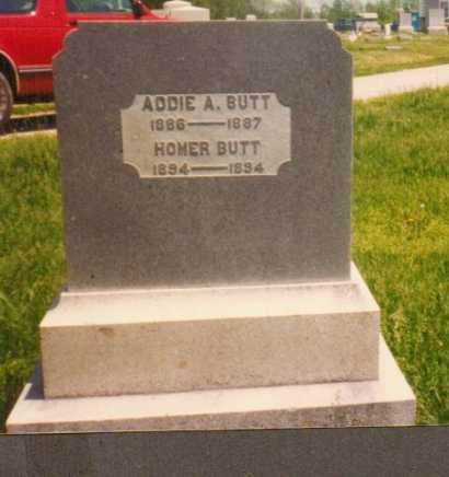 BUTT, HOMER - Brown County, Ohio | HOMER BUTT - Ohio Gravestone Photos