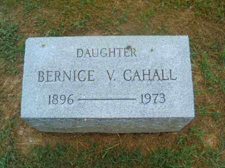 CAHALL, BERNICE   V - Brown County, Ohio | BERNICE   V CAHALL - Ohio Gravestone Photos