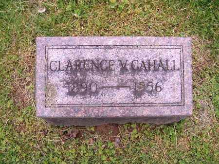 CAHALL, CLARENCE  V - Brown County, Ohio | CLARENCE  V CAHALL - Ohio Gravestone Photos