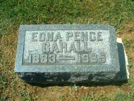 CAHALL, EDNA - Brown County, Ohio | EDNA CAHALL - Ohio Gravestone Photos