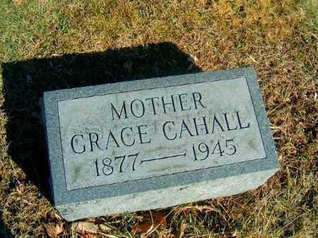CAHALL, GRACE - Brown County, Ohio | GRACE CAHALL - Ohio Gravestone Photos