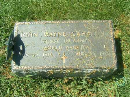 CAHALL, JOHN WAYNE - Brown County, Ohio | JOHN WAYNE CAHALL - Ohio Gravestone Photos