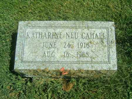 NEU CAHALL, KATHARINE - Brown County, Ohio | KATHARINE NEU CAHALL - Ohio Gravestone Photos