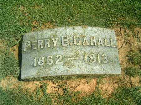 CAHALL, PERRY  B - Brown County, Ohio | PERRY  B CAHALL - Ohio Gravestone Photos