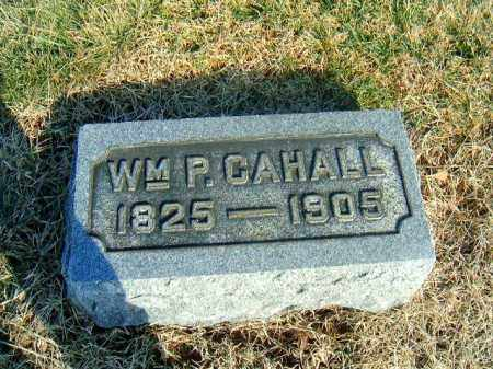 CAHALL, WM  P - Brown County, Ohio | WM  P CAHALL - Ohio Gravestone Photos