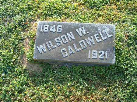 CALDWELL, WILSON  W - Brown County, Ohio | WILSON  W CALDWELL - Ohio Gravestone Photos