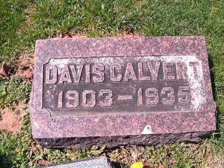 CALVERT, DAVIS - Brown County, Ohio | DAVIS CALVERT - Ohio Gravestone Photos
