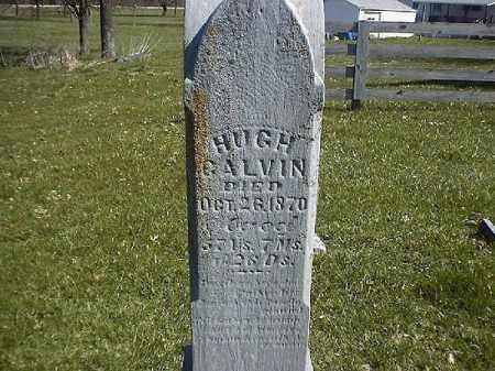 CALVIN, HUGH - Brown County, Ohio | HUGH CALVIN - Ohio Gravestone Photos