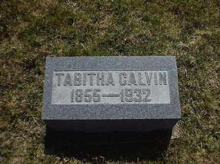 CALVIN, TABITHA - Brown County, Ohio | TABITHA CALVIN - Ohio Gravestone Photos