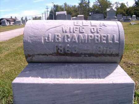 CAMPBELL, ELLA - Brown County, Ohio | ELLA CAMPBELL - Ohio Gravestone Photos