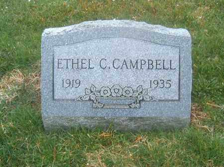 CAMPBELL, ETHEL  C - Brown County, Ohio | ETHEL  C CAMPBELL - Ohio Gravestone Photos