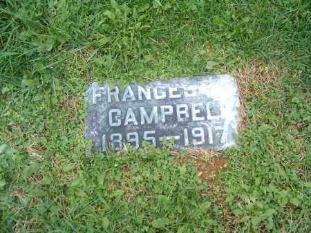 CAMPBELL, FRANCES - Brown County, Ohio | FRANCES CAMPBELL - Ohio Gravestone Photos