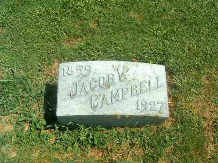 CAMPBELL, JACOB  V - Brown County, Ohio | JACOB  V CAMPBELL - Ohio Gravestone Photos