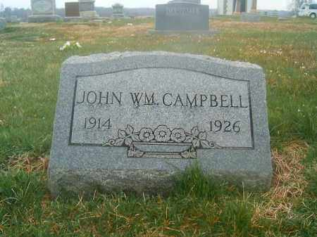CAMPBELL, JOHN  WILLIAM - Brown County, Ohio | JOHN  WILLIAM CAMPBELL - Ohio Gravestone Photos