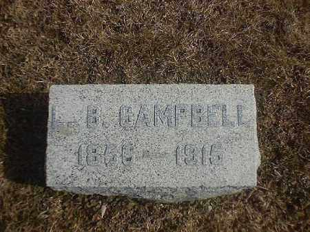 CAMPBELL, L  B - Brown County, Ohio | L  B CAMPBELL - Ohio Gravestone Photos