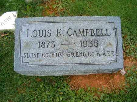 CAMPBELL, LOUIS  R - Brown County, Ohio | LOUIS  R CAMPBELL - Ohio Gravestone Photos