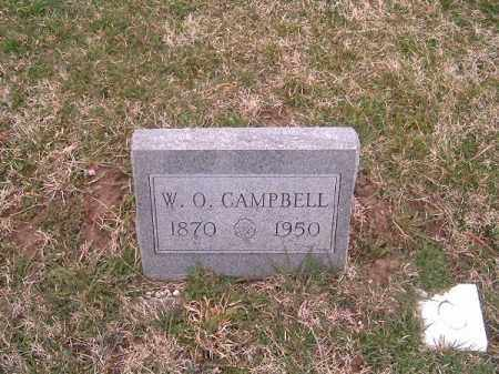 CAMPBELL, W  O - Brown County, Ohio | W  O CAMPBELL - Ohio Gravestone Photos