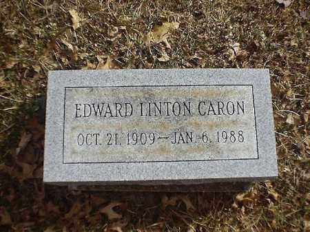 LINTON CARON, EDWARD - Brown County, Ohio | EDWARD LINTON CARON - Ohio Gravestone Photos