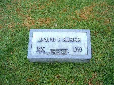 CLUXTON, EDMUND   C - Brown County, Ohio | EDMUND   C CLUXTON - Ohio Gravestone Photos