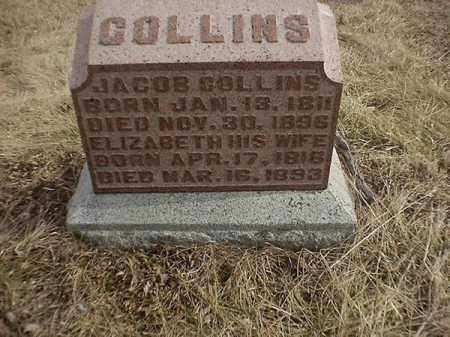 COLLINS, ELIZABETH - Brown County, Ohio | ELIZABETH COLLINS - Ohio Gravestone Photos