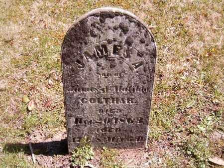 COLTHAR, JAMES A - Brown County, Ohio   JAMES A COLTHAR - Ohio Gravestone Photos