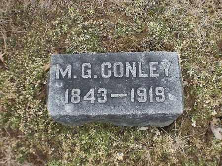 CONLEY, M  G - Brown County, Ohio | M  G CONLEY - Ohio Gravestone Photos