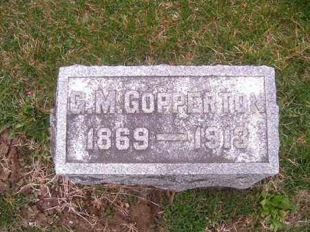 COPPERTON, G  M - Brown County, Ohio | G  M COPPERTON - Ohio Gravestone Photos