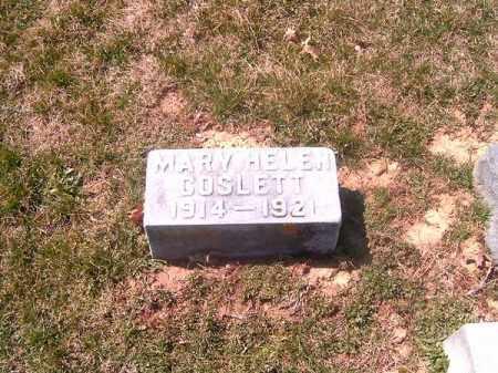 COSLETT, MARY  HELEN - Brown County, Ohio   MARY  HELEN COSLETT - Ohio Gravestone Photos
