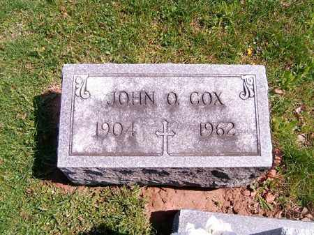 COX, JOHN   O - Brown County, Ohio | JOHN   O COX - Ohio Gravestone Photos