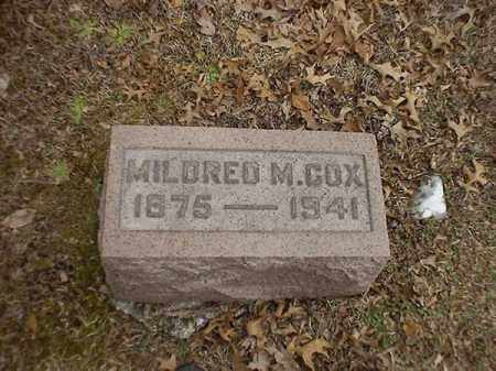 COX, MILDRED  M - Brown County, Ohio | MILDRED  M COX - Ohio Gravestone Photos