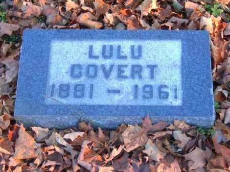 COVERT, LULU - Brown County, Ohio | LULU COVERT - Ohio Gravestone Photos