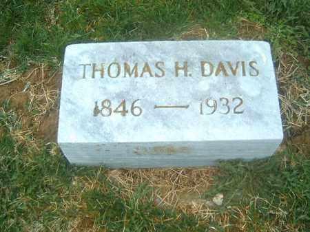 DAVIS, THOMAS  H - Brown County, Ohio   THOMAS  H DAVIS - Ohio Gravestone Photos