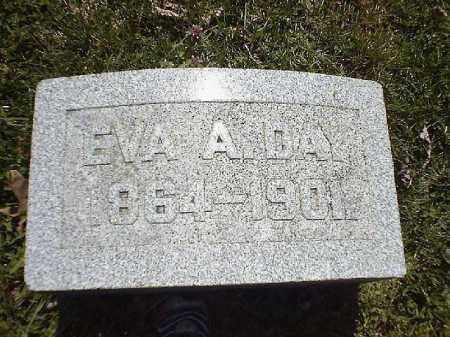 DAY, EVA  A - Brown County, Ohio | EVA  A DAY - Ohio Gravestone Photos