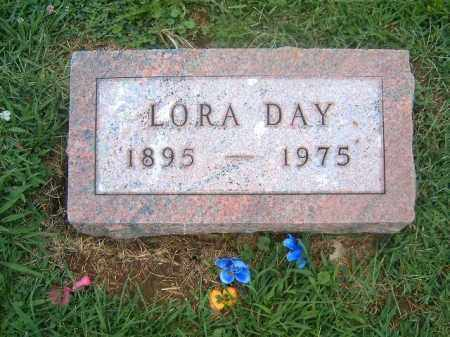 DAY, LORA - Brown County, Ohio | LORA DAY - Ohio Gravestone Photos