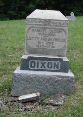 DIXON, SAMUEL - Brown County, Ohio | SAMUEL DIXON - Ohio Gravestone Photos