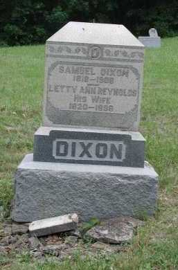 REYNOLDS DIXON, LETTY ANN - Brown County, Ohio | LETTY ANN REYNOLDS DIXON - Ohio Gravestone Photos