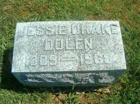 DRAKE DOLEN, JESSIE - Brown County, Ohio | JESSIE DRAKE DOLEN - Ohio Gravestone Photos