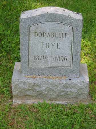 DORA BELLE, FRYE - Brown County, Ohio | FRYE DORA BELLE - Ohio Gravestone Photos