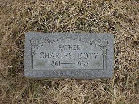 DOTY, CHARLES - Brown County, Ohio | CHARLES DOTY - Ohio Gravestone Photos