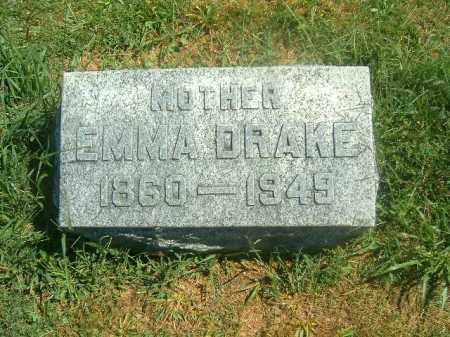 DRAKE, EMMA - Brown County, Ohio | EMMA DRAKE - Ohio Gravestone Photos