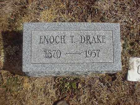 DRAKE, ENOCH  T - Brown County, Ohio | ENOCH  T DRAKE - Ohio Gravestone Photos