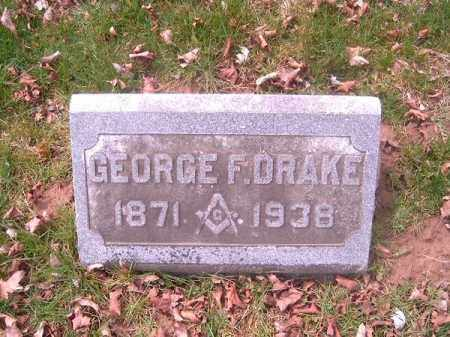 DRAKE, GEORGE   F - Brown County, Ohio | GEORGE   F DRAKE - Ohio Gravestone Photos