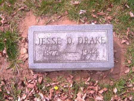 DRAKE, JESSE  D - Brown County, Ohio | JESSE  D DRAKE - Ohio Gravestone Photos