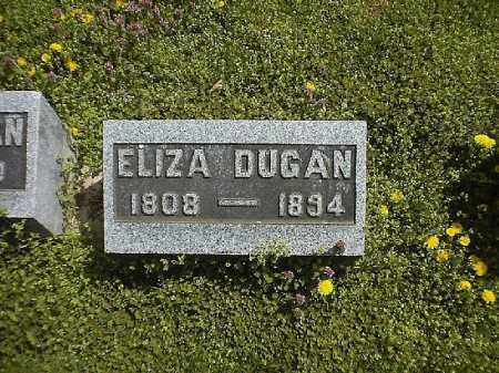 DUGAN, ELIZA - Brown County, Ohio | ELIZA DUGAN - Ohio Gravestone Photos